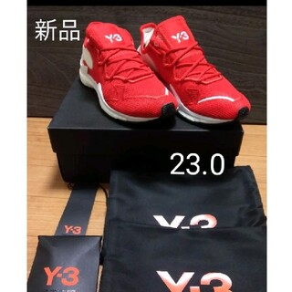 ワイスリー(Y-3)の新品 未使用 Y-3 スニーカー Adizero Runner サイズ23.0(スニーカー)
