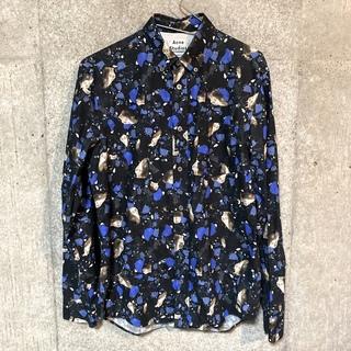 アクネ(ACNE)のAcne Studios 大理石shirt(シャツ/ブラウス(半袖/袖なし))