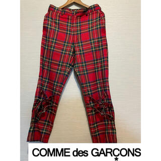 コムデギャルソン(COMME des GARCONS)のCOMME des GARCONS 赤 パンツ コムデギャルソン homme(その他)