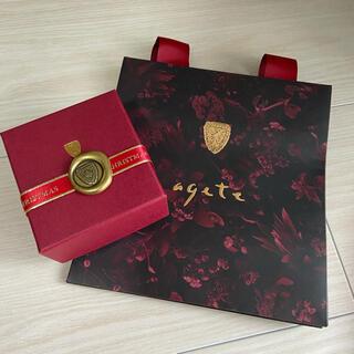 アガット(agete)の【美品】agete 空箱 アガット紙袋(ショップ袋)