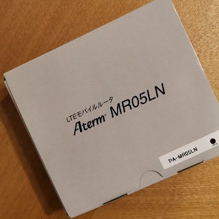 エヌイーシー(NEC)の新品 モバイルルーター MR05LN(PC周辺機器)