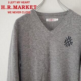 ハリウッドランチマーケット(HOLLYWOOD RANCH MARKET)のHollywood Lunch Market ハリラン 刺繍ロゴ ニット(ニット/セーター)