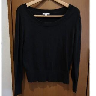 プチバトー(PETIT BATEAU)のプチバトー 黒セーター 14ans(ニット/セーター)