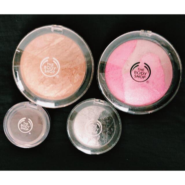 THE FACE SHOP(ザフェイスショップ)のTHE BODY SHOP アイシャドウ  チーク4点セット コスメ/美容のベースメイク/化粧品(アイシャドウ)の商品写真