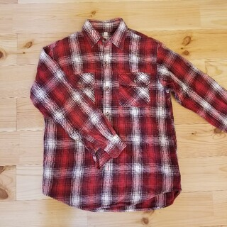 ユニクロ(UNIQLO)のチェックシャツ(ブラウス)