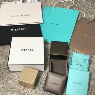 ティファニー(Tiffany & Co.)のブランドショップ袋・ボックスセットまとめ売り(ショップ袋)
