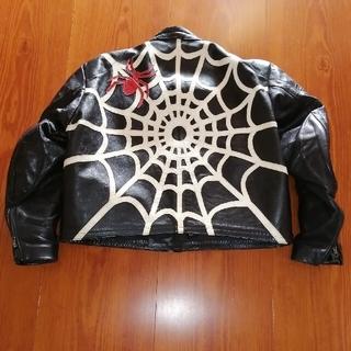 バンソン(VANSON)の超希少 バンソン スパイダー レザージャケット 蜘蛛(レザージャケット)