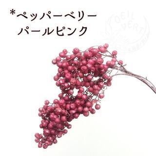 ペッパーベリー パールピンク 4.9g(プリザーブドフラワー)