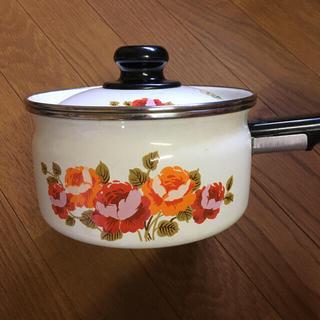 ゾウジルシ(象印)の象印 昭和レトロ片手鍋(鍋/フライパン)