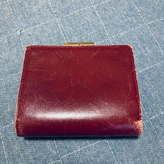 ジバンシィ(GIVENCHY)のGIVENCHY ボルドー 二つ折り財布(財布)