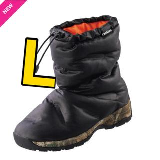 ウォークマン(WALKMAN)の新品 ケベック ネオ neo L ブラック ワークマン スノーブーツ(ブーツ)