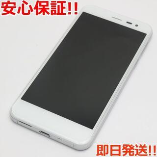 アンドロイドワン(Android One)の美品 Y!mobile 507SH Android One ホワイト (スマートフォン本体)