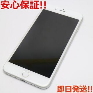 アイフォーン(iPhone)の美品 DoCoMo iPhone7 PLUS 32GB シルバー (スマートフォン本体)