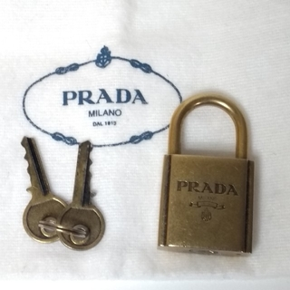 プラダ(PRADA)のPRADA南京錠(チャーム)