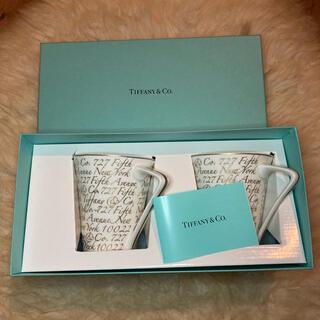 ティファニー(Tiffany & Co.)のティファニー マグカップ ペア(グラス/カップ)
