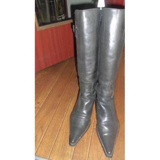 イタリアインディペンデント(ITALIA INDIPENDENT)の💖最終値下げ!イタリー制)(ブーツ)黒(ブーツ)