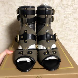 アッシュ(ASH)のAsh ブーツサンダル カーキ 新品未使用品(ブーツ)