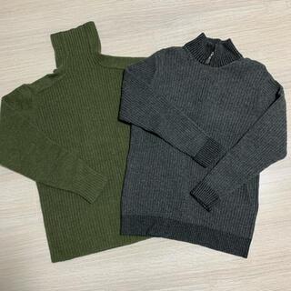 ニジュウサンク(23区)の23区HOMME ニット2枚セット Lサイズ(ニット/セーター)