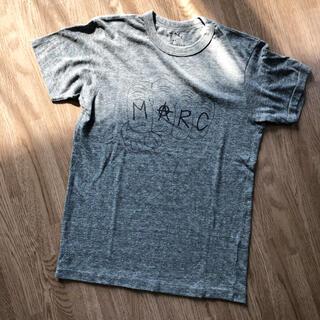 マークバイマークジェイコブス(MARC BY MARC JACOBS)のMARC BY MARC JACOBS 霜降りTシャツ パンチマーク/グレー(Tシャツ(半袖/袖なし))