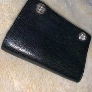 クロムハーツ(Chrome Hearts)のたく様クロムハーツ 三つ折り財布(折り財布)
