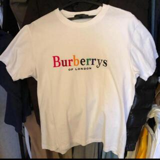 バーバリー(BURBERRY)のバーバリー burberry  18ss レインボー Tシャツ(Tシャツ/カットソー(半袖/袖なし))