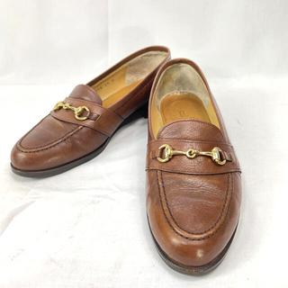 リーガル(REGAL)のリーガル ホースビット レザー ローファー ブラウン 約24cm(ローファー/革靴)