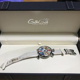 ガガミラノ(GaGa MILANO)のGaGa MILANOマヌアーレ40 腕時計(腕時計)