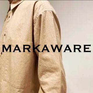 マーカウェア(MARKAWEAR)のMARKAWARE/UTILITY COMFORT SHIRTS(シャツ)