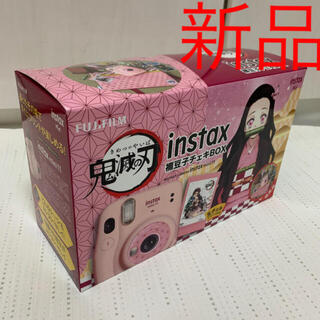 フジフイルム(富士フイルム)の禰豆子チェキbox 新品 鬼滅の刃 instax mini 11 限定品 セット(フィルムカメラ)