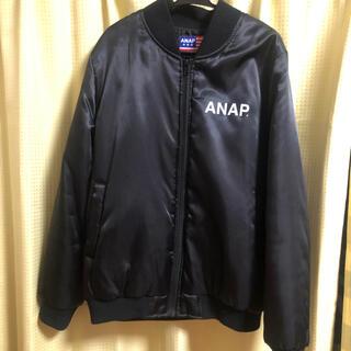 アナップ(ANAP)のANAP ブルゾン フリーサイズ(ブルゾン)