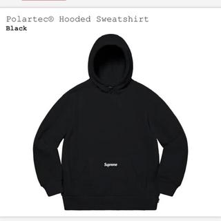 シュプリーム(Supreme)のsupreme polartec hooded sweatshirt (パーカー)