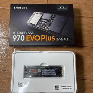 SAMSUNG 970EVO Plus 1TB M.2 SSD NVMe (PCパーツ)