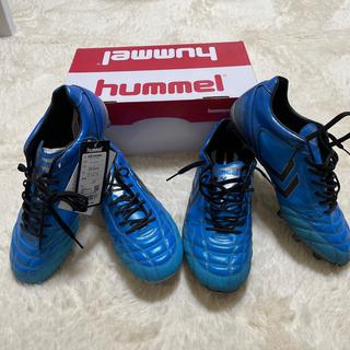ヒュンメル(hummel)の[ヒュンメル] サッカースパイク ヴォラートKS WIDE 26.5cm セット(シューズ)