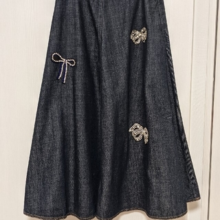 マックスマーラ(Max Mara)のマックスマーラデニムスカート(ロングスカート)