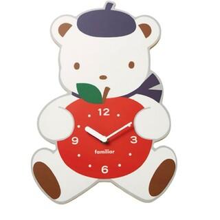 ファミリア(familiar)の新品 ファミリア 掛け時計(掛時計/柱時計)