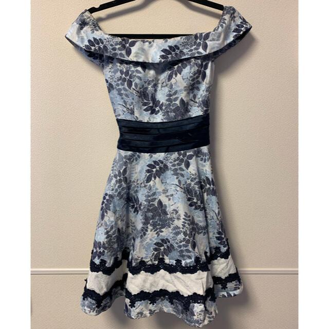 an(アン)のan キャバミニドレス Mサイズ レディースのフォーマル/ドレス(ナイトドレス)の商品写真