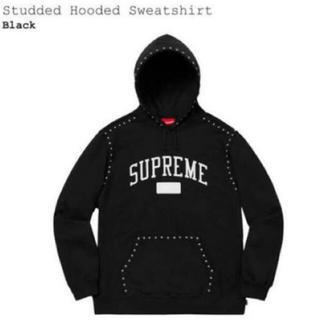 シュプリーム(Supreme)のSupreme Studded Hooded スタッズパーカー  M(パーカー)