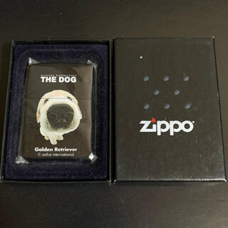 ジッポー(ZIPPO)の【新品未使用】2001年製 ZIPPO THE DOG  ゴールデンレトリバー(タバコグッズ)