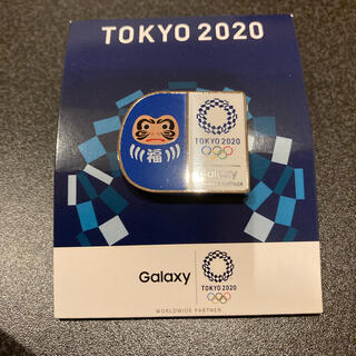 ギャラクシー(Galaxy)のTOKYO2020ピンバッチ(バッジ/ピンバッジ)
