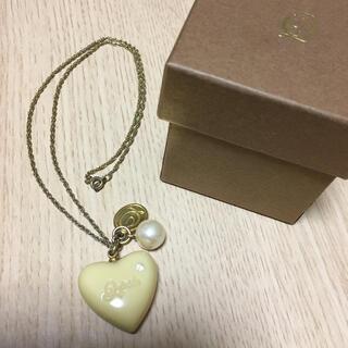 キューポット(Q-pot.)の☆Q-Pot.☆ハートチョコレート型のネックレス☆(ネックレス)
