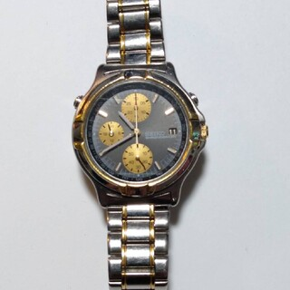 セイコー(SEIKO)のセイコー  クロノグラフ  ジャンク (腕時計(アナログ))
