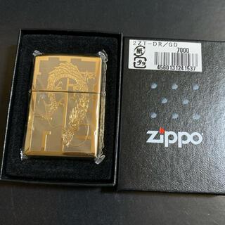 ジッポー(ZIPPO)の【新品未使用】2007年製 ZIPPO Dragon GOLD(タバコグッズ)