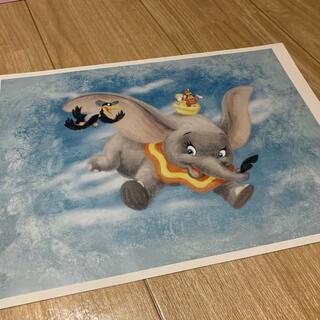 ディズニー(Disney)の非売品 ディズニー ダンボのポスター アートコレクション(絵画/タペストリー)