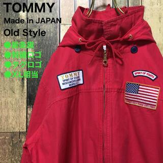 トミー(TOMMY)の《日本製》TOMMY トミー 赤☆パーカージャケット XL オーバーサイズ(ブルゾン)