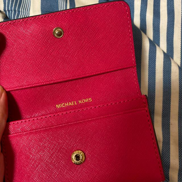 Michael Kors(マイケルコース)のマイケルコース 名刺入れ カードケース レディースのファッション小物(名刺入れ/定期入れ)の商品写真