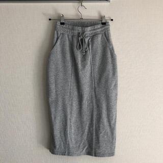 スライ(SLY)のSLY 未使用 スエット タイトスカート(ひざ丈スカート)