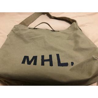 マーガレットハウエル(MARGARET HOWELL)の【最安値】MHL マーガレットハウエル ショルダーバッグ トートバッグ(トートバッグ)