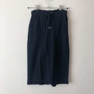 アズールバイマウジー(AZUL by moussy)のアズールバイマウジー スエットリブタイトスカート(ひざ丈スカート)