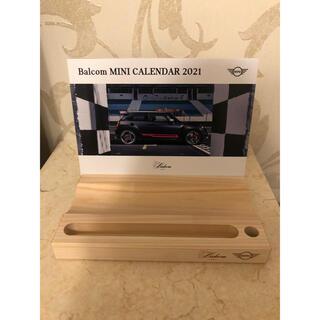 ビーエムダブリュー(BMW)のバルコム MINI  2021年 卓上カレンダー(カレンダー/スケジュール)