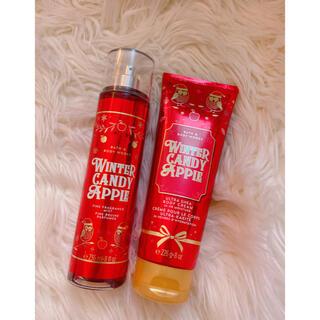 バスアンドボディーワークス(Bath & Body Works)のBath and Body Works Winter candy apple(ボディクリーム)